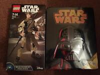 Star Wars Lego Rey and make your own AT-ST brand new le3 Leicester collection