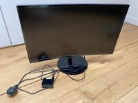 Samsung 27-Inch Curved LED Monitor (C27F390) - £125