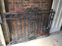 2 x Wrought Iron Gates - £25ONO