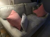 Laura Ashley duck egg blue sofa. In very good condition. Only used occasionally as used in hallway.