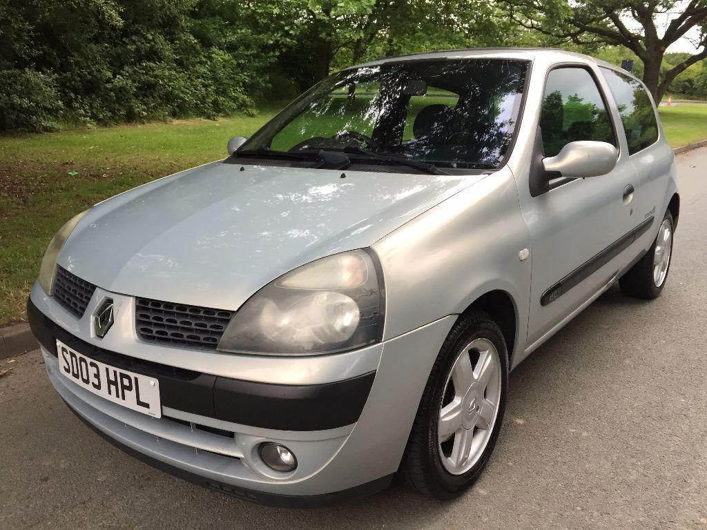 2003 renault clio 1 5 dci dynamique billabong 3dr in sutton coldfield west midlands gumtree. Black Bedroom Furniture Sets. Home Design Ideas