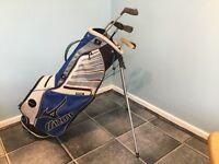 Mizuna golf set with 5 clubs