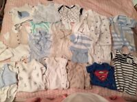 Baby boy bundle 0-3 quality