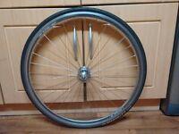 Halo chrome 700c Front wheel