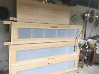 Wardrobes and chest SOLD