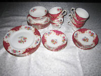 bone china cups plates bowl £100 ono