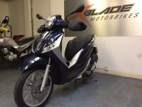 Piaggio Medley 125cc Automatic Scooter, ABS, LED, Stop/Start, V Good Cond, ** Finance Available **