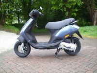piaggio zip 50 2t scooter 2014 only 1600 miles from new