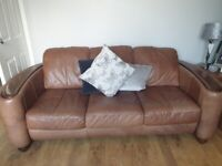 3 seater 2 seater armchair and footstool