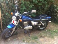 Suzuki Marauder 125 (2004) low ride nice bike for a 125