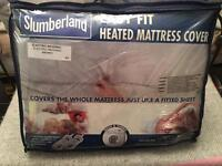 New Slumberland Electric heated mattress cover