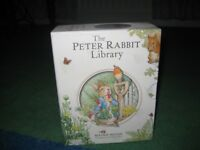 Peter Rabbit library. 10 hardback books in box. Good condition. Smoke-free home.