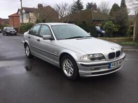 2000 BMW 318i - silver saloon - 4 door - 12 months Mot