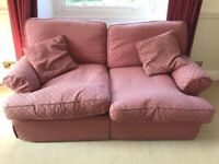 Marks and Spencers two seater sofa with cushions