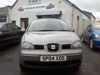 Reg 20/03/2004 SEAT AROSA S 1.0L PETROL 3 DOOR,WELL MAINTAINED CAR,YEAR MOT,SERVICED,IDEAL FIRST CAR