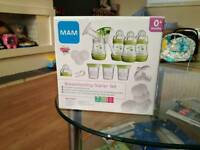 MAM Breastfeeding Starter Set. BRAND NEW