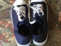 Canvas navy canvas casual shoes