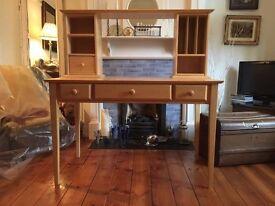 Solid Wood John Lewis Desk for Home Office