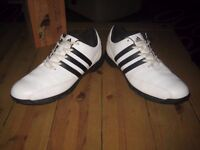 Excellent pair of Adidas golf shoes size 9 UK