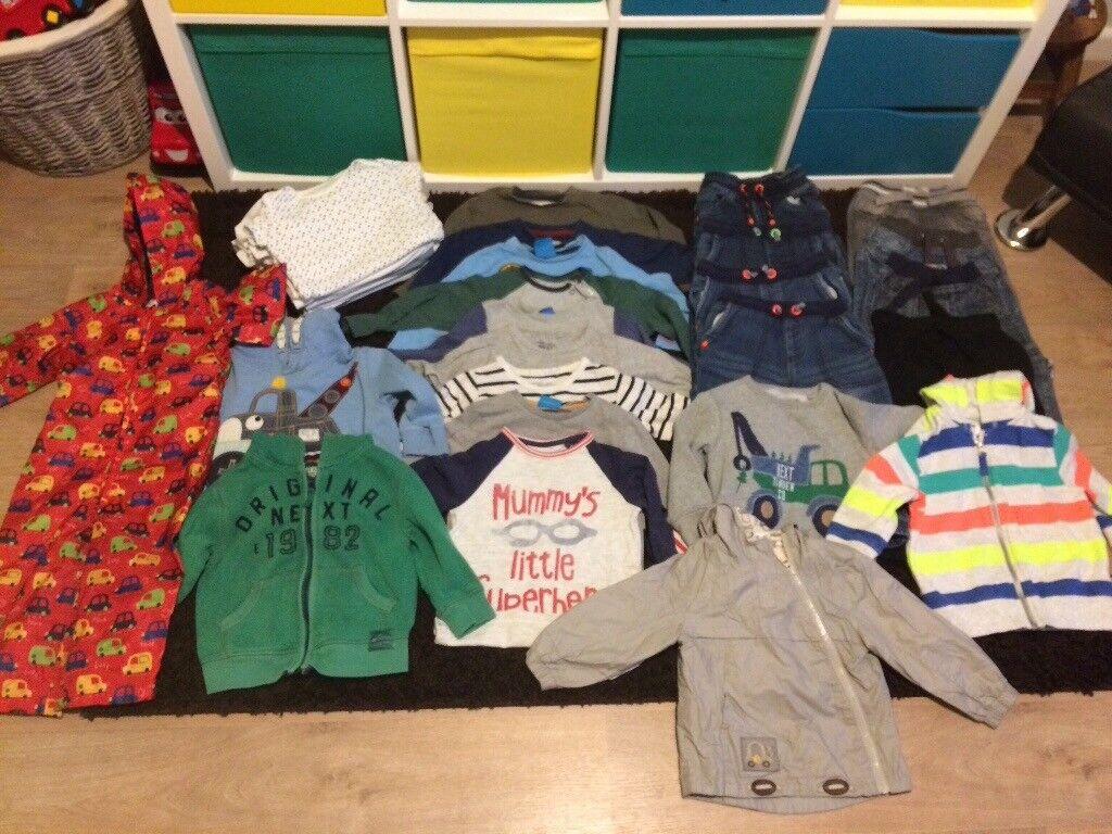 Massive boys 1.5-2 years clothes bundle