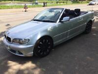 BMW 318i se m:///sport convertible 56 reg 89,000 miles full service history and full year MOT