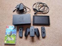 Nintendo Switch w/ Zelda Breath of the Wild [with original box]