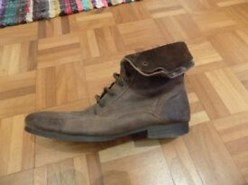 Rustic Leather Boots (Originally (£70)