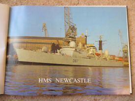 H.M.S. Newcastle commissioning book