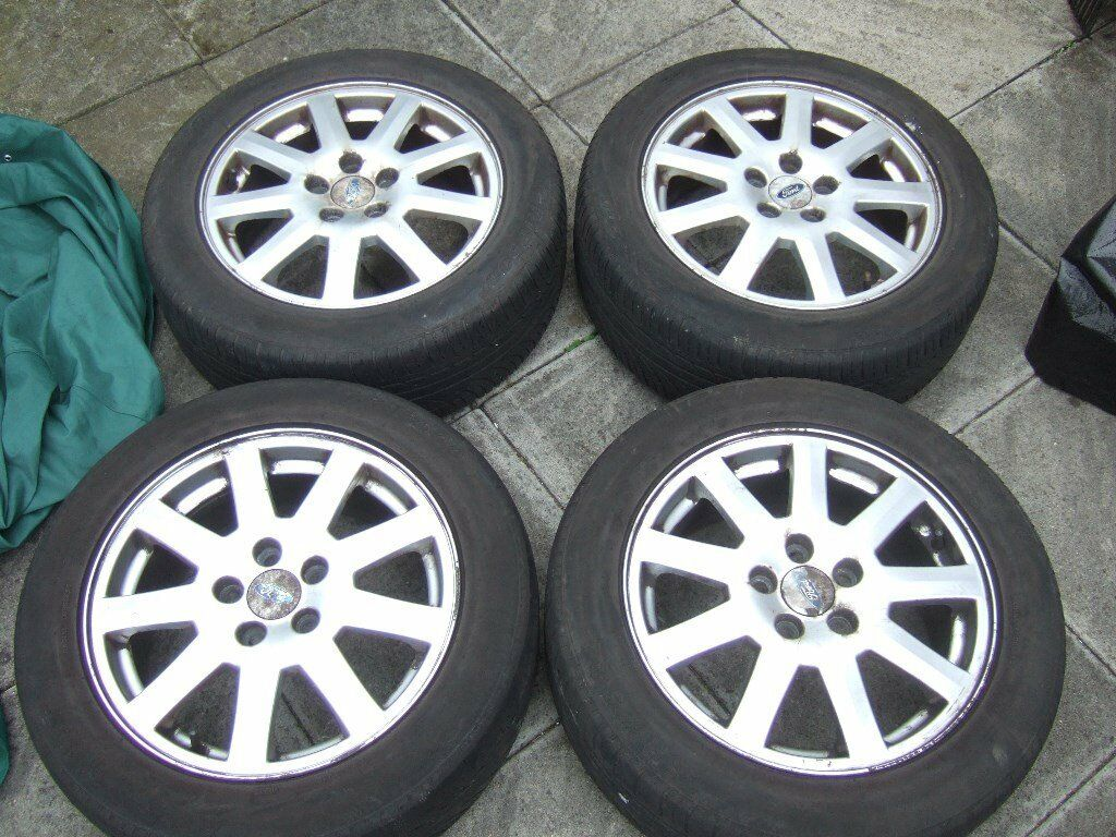 "16"" Ford Mondeo Alloy Wheels, 5x108, 5 stud, Focus, Transit Connect. *POSTAGE AVAILABLE*"