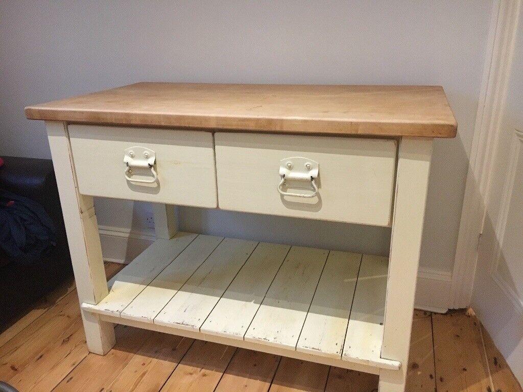kitchen work table butchers block style  john lewis of