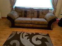 3and 2 seater sofas