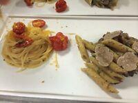 PASTA CHEF FOR A FINE DINING ITALIAN RESTAURANT IN SOHO