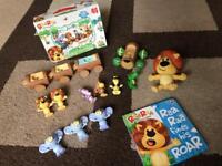 Raa Raa The Noisy Lion Bundle-complete set of characters. for sale  Surrey