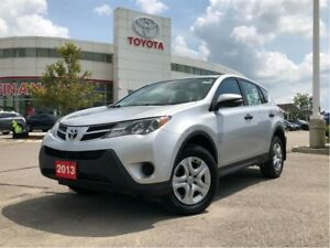 2013 Toyota RAV4 LE AWD - One-Owner / Off-Lease / Certified