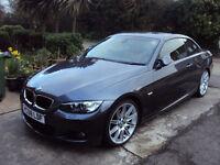 2008 CONVERTIBLE BMW 320D GREY MANUAL 49000 MILES