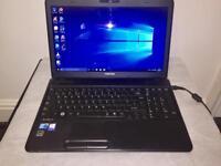 i3 4GB Ram Fast Like New Toshiba Satellite HD Laptop 320GB,Window10,Microsoft office,Ready to use