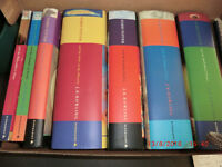 Harry Potter complete 7 book collection: 4 hardback first editions, and 3 paperbacks