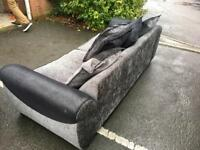 Dfs large 4 seater and swivel chair can deliver