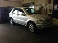 face lift 03 mercedes ml270 special edition , MAY PART EXCHANGE