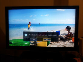 37inch SAMSUNG C650 LCD TV full HD 1080p (working) but very toleratble off/on issue.