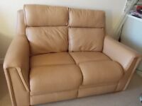 Parker Knoll Leather Sofa £50