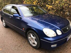 Lexus GS300 S 2997cc Petrol Automatic 4 door saloon R Reg 23/04/1998 Blue