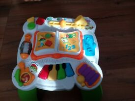 LeapFrog activity Learn & Groove Musical Table for sale.