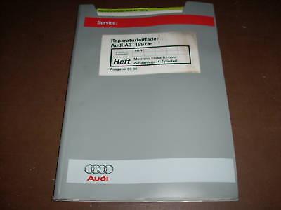 Werkstatthandbuch Audi A3 Motronic Einspritzanlage 4-Zylinder ab 1997 na sprzedaż  Wysyłka do Poland