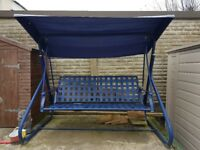 3-Seater Garden Swing With Canopy