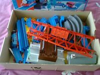 Tomy road & rail trackmaster train set ..Bargain price.