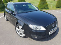 Seat Exeo Sport CR Tdi 141 2010, 109k, Sport Trim, 2 Keys, MOT, Service History & HPI Clear £3795