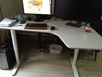 Ikea Bekant White desk