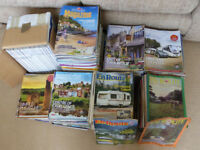 CARAVAN CLUB MAGAZINES ( dating back nearly 40 years )