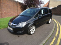 2010 VAUXHALL ZAFIRA SRI 7 SEATS 1.9 CDTI 150 97K MILEAGE 3 M ENGINE WARRANT...